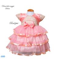 Baju Dres Anak Uk 1-2 Thhn /Gau Dress Anak Balita Cantik-dress anggie