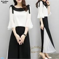 Setelan Atasan & Celana Wanita / Baju Fashion Wanita- st lulina