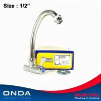 Kran air ONDA V 637 T keran angsa cuci piring 1/2 dapur