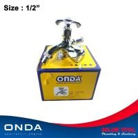 Keran Kran Shower Mixer Double / Dobel Cabang ONDA K 409 GWC [Luxury]