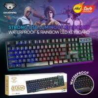 Keyboard Gaming Kabel Divipard GK-50 RGB LED Mechanical Untuk Komputer
