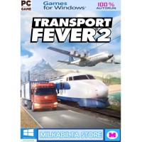 Transport Fever 2 - GAME PC - LAPTOP - 4 DVD
