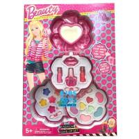 Mainan Anak Perempuan Make Up Set Beauty Barbie 3 susun