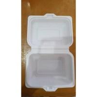 KOTAK MAKAN MEAL BOX PLASTIK - MIKA BENTO MEDIUM - ISI 25 PCS