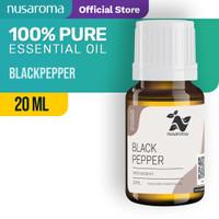 Nusaroma Black Pepper Essential Oil - 20 ML