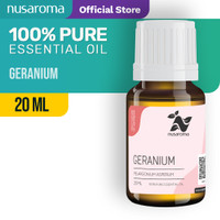 Nusaroma Geranium Essential Oil - 20 ML