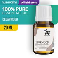 Nusaroma Cedarwood Essential Oil - 20 ML