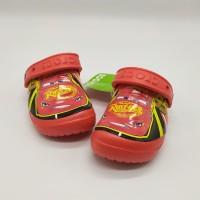 SALE! Sendal Anak Crocs Cars Rusteze Red