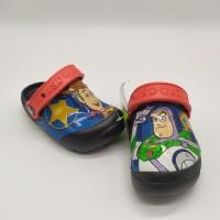 SALE! Sendal Anak Crocs Toy Story Black
