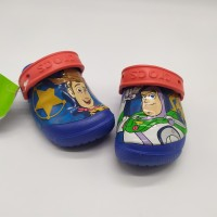 SALE! Sendal Anak Crocs Toy Story Blue