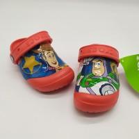 SALE! Sendal Anak Crocs Toy Story Red