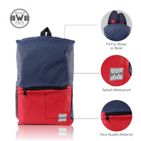 Woof Pack Basic Tas Ransel Pria Polyester Tpack-Xmi 3.0 Blue Red - Blue Red