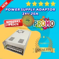 Power Supply Switching PSU 24V 20A High Quality, 24 Volt 20 Ampere Fan