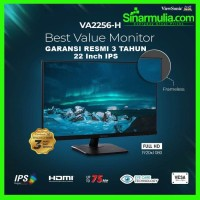 "Monitor LED 22"" ViewSonic VA2256-H IPS Full HD Frameless Bezel"