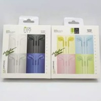Handsfree Stereo U19 Macaron Headset Extra Bass Earphone U 19
