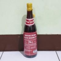 [satuan] RACING HORSE BRAND Minyak Wijen Sesame Oil 640ml (Botol Kaca)