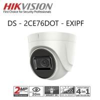 DS-2CE76D0T-EXIPF Cam Hikvision 2.8mm Dome 2.0 Mpx White
