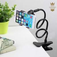 Lazypod / Lazy Bracket / Jepsis Plastik untuk smartphone - Hitam