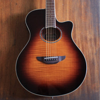 Yamaha APX 600 APX600 FM TBS Acoustic Electric Guitar