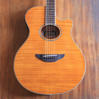 Yamaha APX 600 APX600 FM Flamed Maple Amber Acoustic Electric Guitar