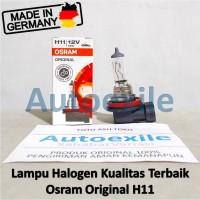 Osram Original Spare Part H11 12V 55W 64211 Made Germany Lampu Mobil