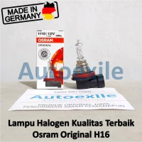 Osram Original Spare Part H16 12V 19W 64219L+ Made Germany Lampu Mobil