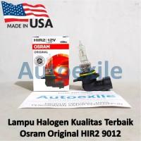 Osram Original Spare Part Sylvania HIR2 9012 55W Made USA Lampu Mobil