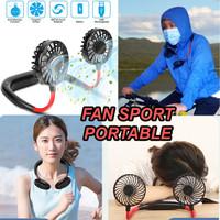 Kipas Angin Leher Kipas Angin Olahraga Portable Mini Fan