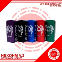 HEXOHM HEXANGELS V3 MOD HEXANGLES HEXOHM AUTHENTIC- GARANSI VAPEZOO