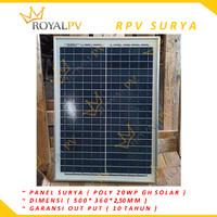 panel surya 20wp solar cell 20wp solar panel 20wp