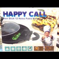 Cetakan kue pukis 12 lubang Happy Call Original