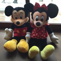 AISYAH [NEW] Boneka Mickey Minnie mouse ORIGINAL jumbo besar