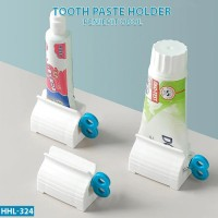 Dispenser Odol Tempat Pasta Gigi Unik Stand Holder Penjepit Roll Tube
