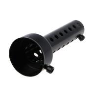 Muffler Pipa Knalpot 48mm Universal Warna Hitam untuk Motor