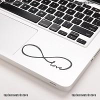 TOPL Stiker Decal Motif Love Infinity Bahan Vinyl untuk Macbook /