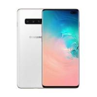 Samsung Galaxy S10 Plus - 8/512GB - Ceramic White - Garansi Resmi