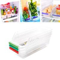 Lemari Es Makanan Dan Minuman Laci Penyimpanan Kotak Penyimpanan