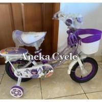 Murah Sepeda Anak Mini Perempuan Evergreen Daisy 12 PREMIUM FREE BEL