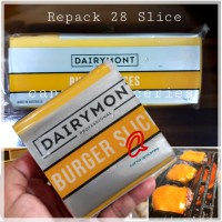 Dairymont Burger Slice Repack / Dairymont Cheddar Cheese Slices red