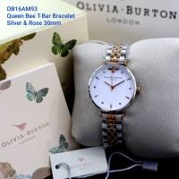 [Original] Jam Tangan Wanita Olivia Burton Silver Sunray Series