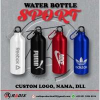 Botol Minum Sport 500ml LASER GRAFIR - Putih