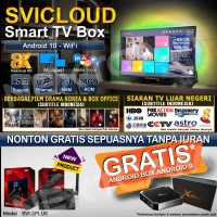 SVICLOUD/SVI CLOUD EVPAD 3PLUS IPTV TVBOX 9CORE 2/16GB 8K ANDROID10-2C