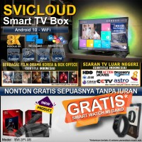 SVICLOUD/SVI CLOUD EVPAD 3PLUS IPTV TVBOX 9CORE 2/16GB 8K ANDROID10-2A