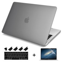 Batianda Hard Case Macbook Pro 13 inch With Touch Bar - Matte Grey