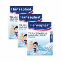 Hansaplast Transparan isi 10 lembar