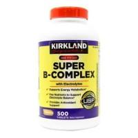 Kirkland Super B-Complex 500 tablets Vitamin one per day signature