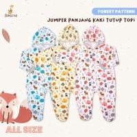 Blessing babywears-jumper panjang kaki tutup topi-SZ:All-size-f-adw