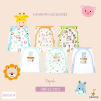 Blessing Babywear-popok bayi mix pattern-isi 6 pcs motif random