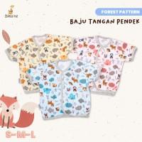 Blessing Babywear-baju bayi tangan pendek-Sz SML-f-adw