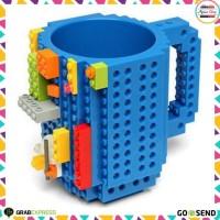 Gelas Lego Mug Lego Build-on Brick